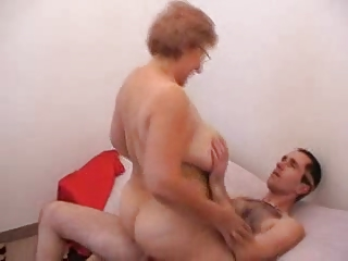 AllGrannyPorn - Riding Like A Pro