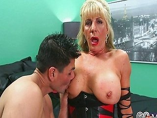 The 63-Year-Old Slut Gets Ass-Fucked