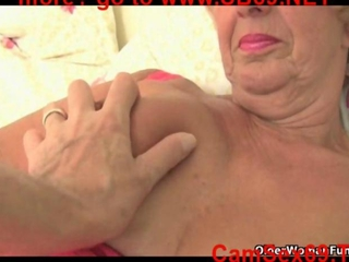 Granny Samanthas old pussy needs attention (compilation)