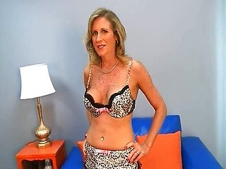 Mature:  Gorgeous and Horny 50+ Babe Fucks