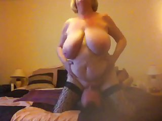 Very busty bbw granny wants her pussy licked