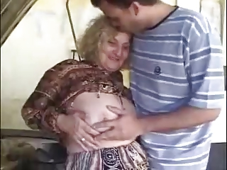 Granny and young man - 11