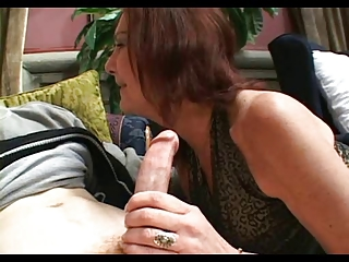 Hairy Pussed Granny Anatasia Fucks Young Lad