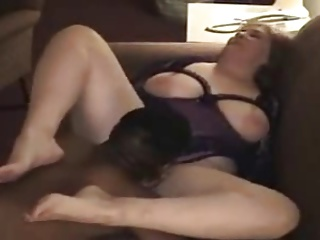55yr old White Granny Fucks BBC as Hubby Films - Cuckold
