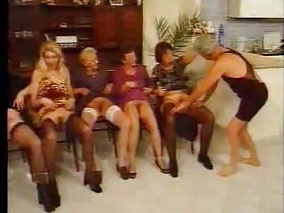 Group sex with grannies - 6