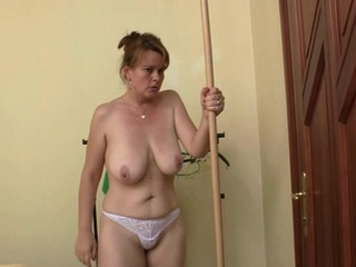 Erotic lady gets couple rods at once