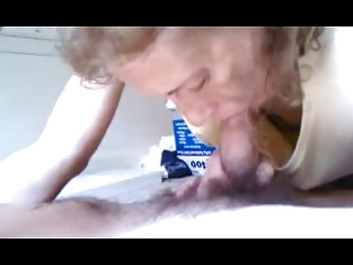 Granny likes sucks to young man