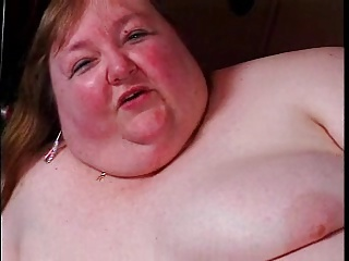 Huge SSBBW masturbating