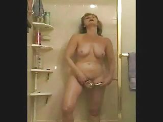 Wet and Standing GMILF Masturbates Compilation