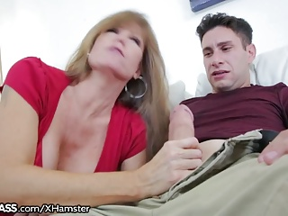 Blonde swinger wife fucks a friend compil pt1