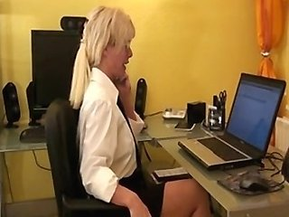 german office girl fucking for promotion
