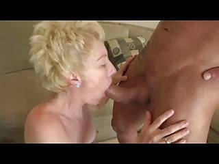 Short Haired Granny Enjoys Young Meat 171.SMYT
